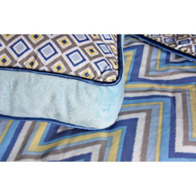 Caden Lane® Ikat Big Kid Boy Square Pillow