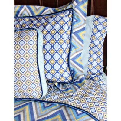 Caden Lane® Ikat Big Kid Boy Twin Sheet Set