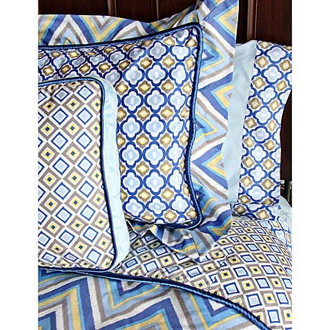 Caden Lane® Ikat Big Kid Boy Full Duvet Cover