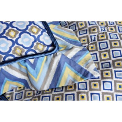 Caden Lane® Ikat Big Kid Boy Pillow Sham