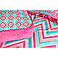 Caden Lane® Ikat Big Kid Girl Square Pillow
