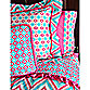Caden Lane® Ikat Big Kid Girl Duvet Cover