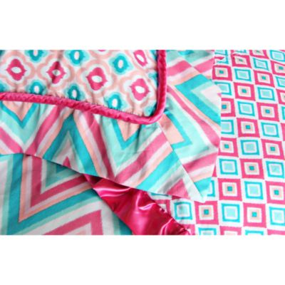 Caden Lane® Ikat Pink Pillow Sham