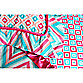 Caden Lane® Ikat Big Kid Girl Pillow Sham
