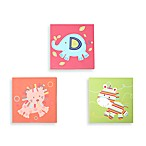 Kids Line™ Animal Parade 3-Piece Wall Art