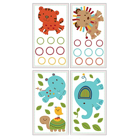 Kids Line™ Animal Parade Wall Decals
