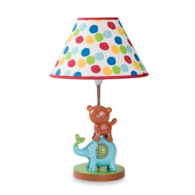 Kids Line™ Animal Parade Lamp & Shade