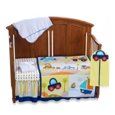 Lambs & Ivy® Little Travelers 7-Piece Crib Bedding Set
