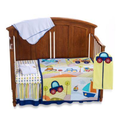 Lambs & Ivy® Little Travelers 7-Piece Crib Bedding Set