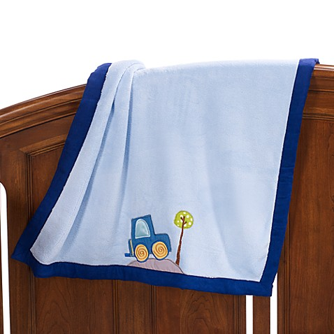 Lambs & Ivy® Little Travelers Blanket