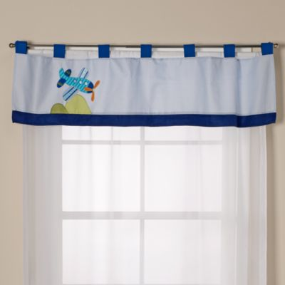 Crib Bedding Sets > Lambs & Ivy® Little Travelers Valance