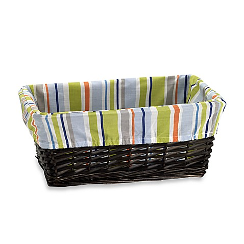 Lambs & Ivy® Little Travelers Basket with Liner