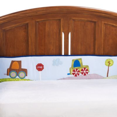 Lambs & Ivy® Little Travelers Crib Bumper