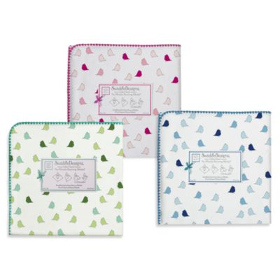 Swaddle Designs® Little Chickies Flannel Swaddling Blanket