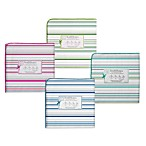 Swaddle Designs® Striped Print Flannel Swaddling Blanket
