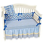 Caden Lane® Asher Ikat Crib Bedding