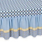 Caden Lane® Ikat Asher Crib Skirt