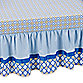 Caden Lane® Ikat Gage Crib Skirt