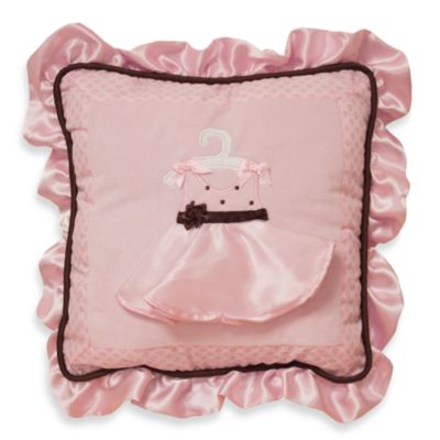 Lambs & Ivy® Angelina Decorative Pillow