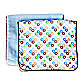 Caden Lane® Burp Cloth 2-Pack in Blue Solid & Blue Star