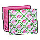 Caden Lane® Burp Cloth 2-Pack in Boutique Rose Lattice