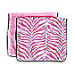 Caden Lane® Burp Cloth 2-Pack in Boutique Zebra Pink