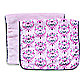 Caden Lane® Burp Cloth 2-Pack in Pink Solid & Pink Damask