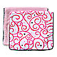 Caden Lane® Burp Cloth 2-Pack in Pink Solid & Pink Swirl