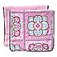 Caden Lane® Burp Cloth 2-Pack in Pink Solid & Pink Moroccan