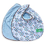 Caden Lane® Bib 2-Pack in Blue Solid & Blue Moroccan