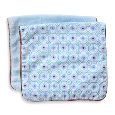 Blue Burping Cloths