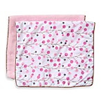 Caden Lane® Burp Cloth 2-Pack in Pink Solid & Pink Twiggy