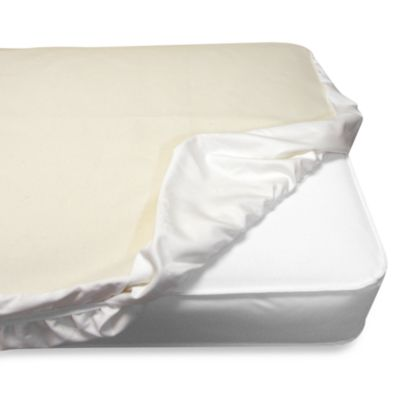 Naturepedic® Fitted Waterproof Crib Pad
