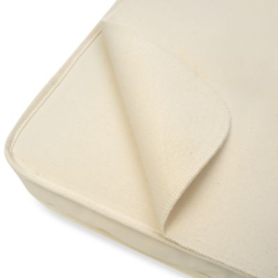 Naturepedic® Flat Waterproof Bassinet Pad