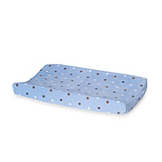 Carter's® Monkey Rockstar Velour Changing Pad Cover