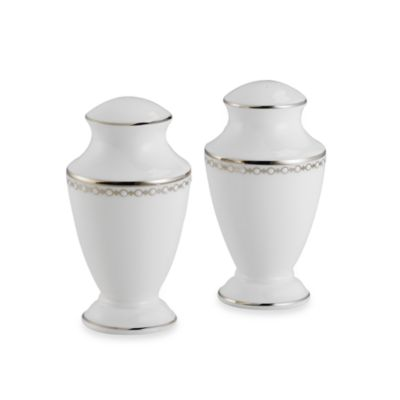 Lenox® Pearl Platinum™ Salt and Pepper Shaker Set