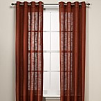B. Smith Origami Grommet 108-Inch Window Curtain Panel in Spice