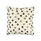 The Vintage House by Park B. Smith® Button Toss Pillow in Natural