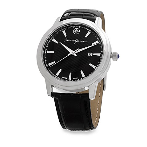 Mark & James by Badgley Mischka Stainless Steel Watch