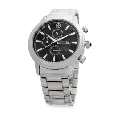 Mark & James Stainless Steel Multifunctional Watch