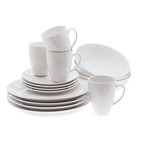 Maxwell & Williams™ White Basics Coupe 16-Piece Dinnerware Set