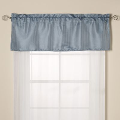 Oxford Valance in Blue