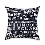 Neighborhood Blue Jeans Toss Pillow