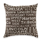 Neighborhood Dusk Toss Pillow