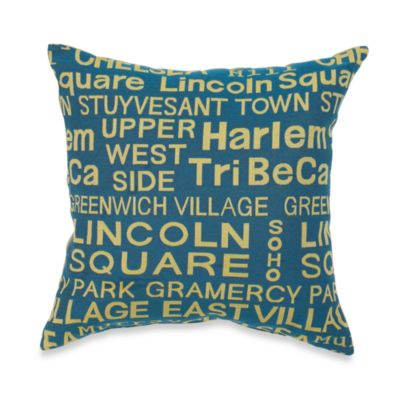Neighborhood Hudson Throw Pillow