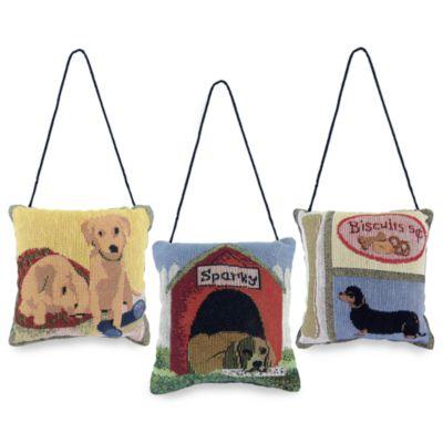 Park B. Smith® Dog Days Tapestry Door Knocker Pillows - Set of 3