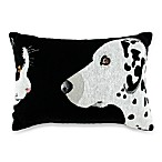 PB Paws Pet Collection Best Friends Tapestry Decorative Pillows Black & White (Set of 2)