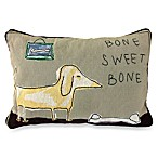 PB Paws Pet Collection Bone Sweet Bone Tapestry Decorative Pillows (Set of 2)