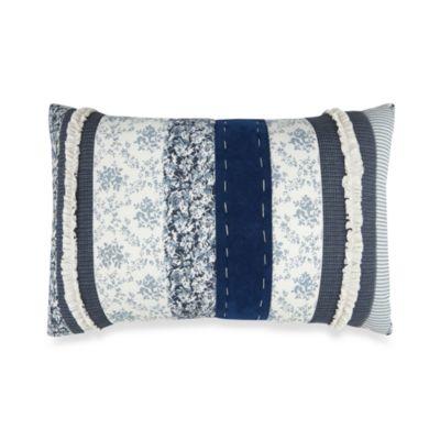 Park B. Smith® Napa Denim 12-Inch x 18-Inch Throw Pillow