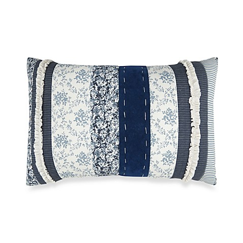 Park B. Smith® Napa Denim 12-Inch x 18-Inch Throw Pillow